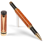 Classic Rollerball Pen - Afzilia Snakeskin