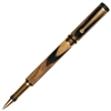 Classic Elite Rollerball Pen - Black & White Ebony