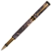 Classic Elite Rollerball Pen - Gray & Black Maple Burl