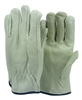 1 dozen (12 pairs) Cowhide Full Grade A leather work glove