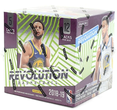 2018-19 Panini Revolution Chinese New Year Basketball Live Hobby Box Break