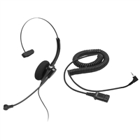 Chameleon 2102 Monaural Telephone Headset w/ 2.5mm Cord