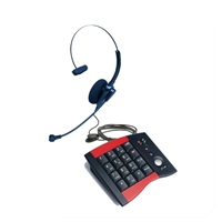 Pro Series Single Ear Noise Canceling Headset - w/ DA207 Telephone