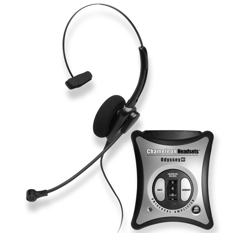 Chameleon 2137 Monaural Telephone Headset Amplifier Combo