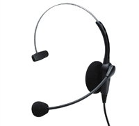 Chameleon 2001 Monaural Telephone Headset w/ 3.5mm jack