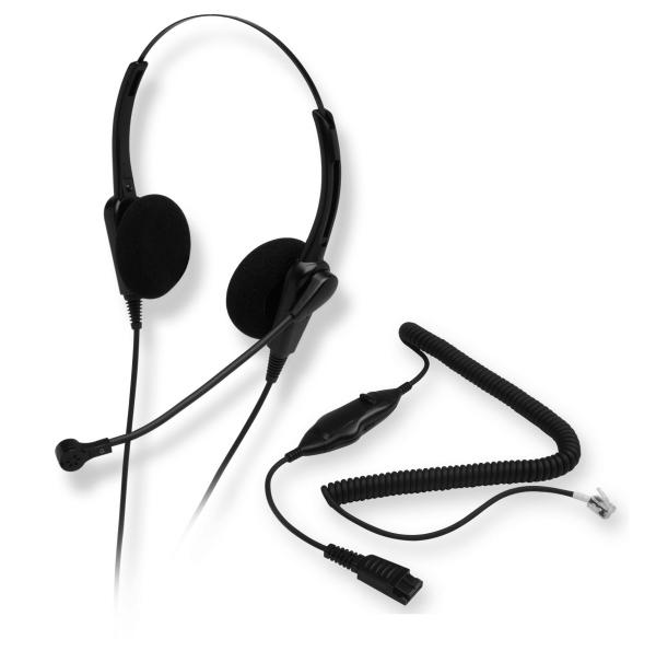 Chameleon 2002 PRO Noise Canceling Headset - Avaya HIC