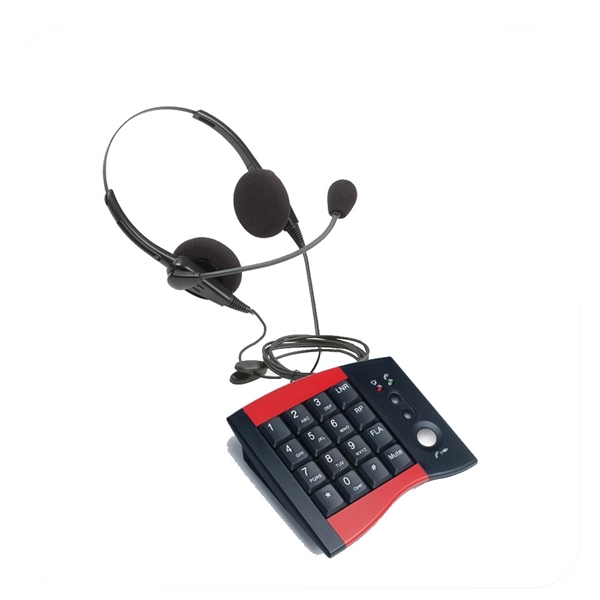 Pro Series Dual Ear Noise Canceling Headset - w/ DA207 Telephone