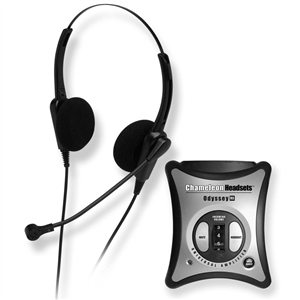 Chameleon 2237 Binaural Telephone Headset & Amplifier Combo