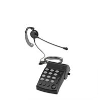 Chameleon 2333 Convertible Telephone Headset & Dial Pad System (DA202)