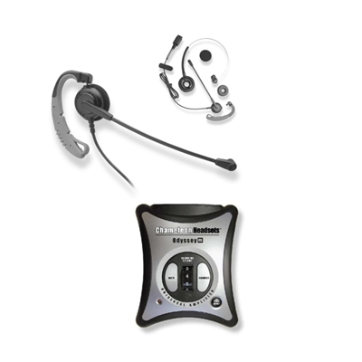 Chameleon 2337 Convertible Telephone Headset & Amplifier Combo