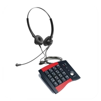 Eco Series Dual Ear Noise Canceling Headset - w/ DA207 Telephone