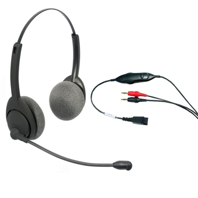 Chameleon 2012 AIR Noise Canceling Headset - 3.5mm PC SoundCard