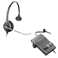 Plantronics HW251 SupraPlus Headset w/ Voice Tube - M22 Vista Amplifier Bundle