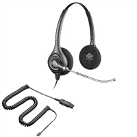 Plantronics HW261 SupraPlus Headset w/ Voice Tube - HIC Adapter Cable Bundle