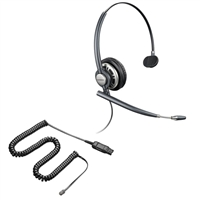 Plantronics HW710 EncorePro w/ Noise Canceling Mic - 26716-01 Amplifier/Cisco Direct Connect Cable Bundle