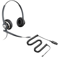 Plantronics HW301N EncorePro Headset w/ Noise Canceling Mic - A10 Direct Connect Cable Bundle