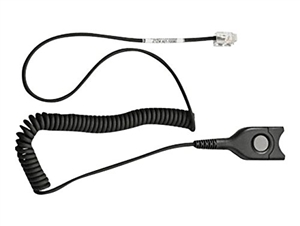 Sennheiser CSTD01 Quick Disconnect Coiled Cord