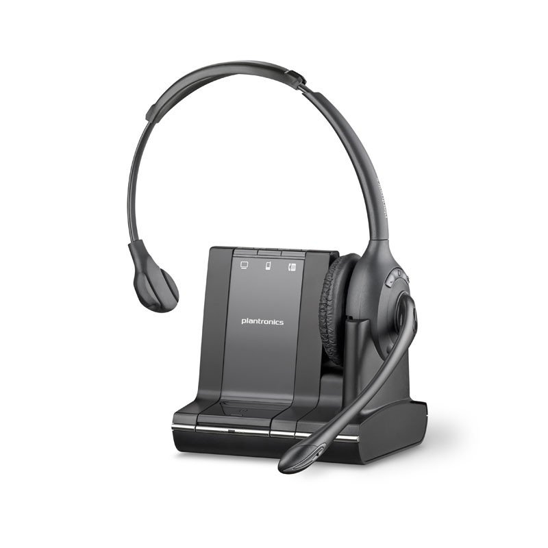 Plantronics Savi W710 Single Ear Wireless Headset Phone Pc Mobile