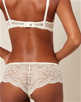 Ivory Lace Shorty style brief
