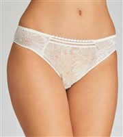 Ivory lace bikini brief