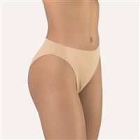 High quality nude microfibre plain bikini brief