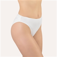 Premium white bikini brief made out of a beautifully soft microfibre