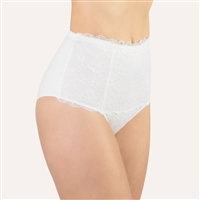 Beautiful lace high waist brief by designer label, Made in Italy