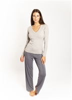 Love & Lustre Cashmere Lounge Top