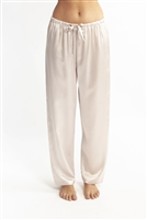 A beautiful premium quality silk sleep pant featuring and elastic waistband with drawstring.