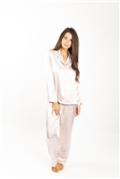 Love & Lustre Silk Piped PJ Set