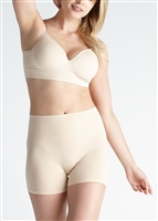 Light nude ultralight seamless high waist shaping short