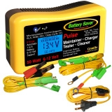 Battery Saver Charger, Maintainer, Cleaner & Tester