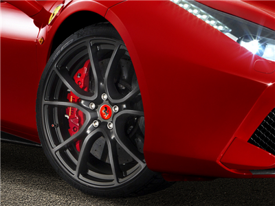 Ferrari 488 Forged Multi-spoke Wheels, Matte Grey