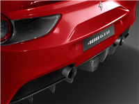 Ferrari 488 Sports Tailpipe Tips with Ceramic Coating