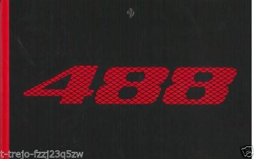 Ferrari 95993439 Brochure 488 Gtb