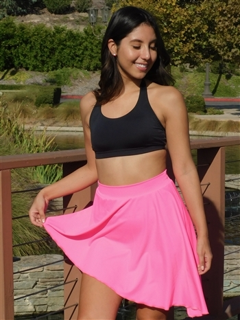 Angle Dance Skirt (Shiny Lycra)