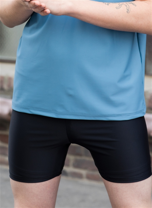 Boys Dance Shorts (Shiny Lycra) - 200+ Colors 6689d8399