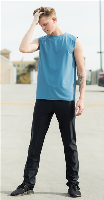 Slim Fit - Mens/Boys Dance Pants (Lycra)