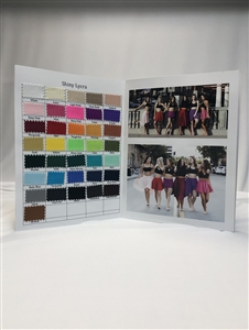 Color Card (Shiny Lycra)