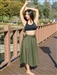 Extra Long Circle Skirt (Lycra)