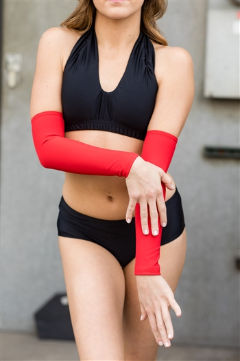 Long Arm Sleeve (Shiny Lycra)
