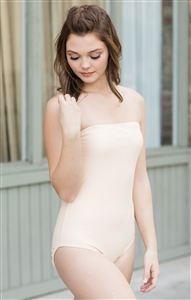 Strapless Leotard (Velvet)