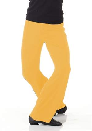 Yellow Boys Dance Pants (Lycra)