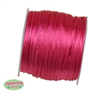 1mm hot Pink Satin Bead Cording