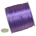 1mm lavender Satin Bead Cording