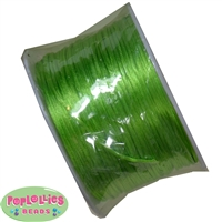 Lime Green Satin Bead Cording