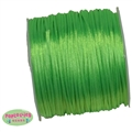 1mm lime green Satin Bead Cording