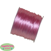 1mm Pink Satin Bead Cording