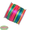 1mm rainbow Satin Bead Cording