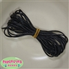 1.5mm Black Leather Bead Cording